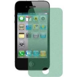 WireX Glitter Screen Protector for Apple iPhone 4 / 4S (Green)