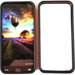 Unlimited Cellular Deluxe Silicone Skin Protective Rim for Apple iPhone 5 (Orange/Black) found on Bargain Bro India from Unlimited Cellular for $5.99
