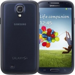 Samsung Protective Cover Plus Case for Samsung Galaxy S4 (Navy)