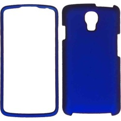 Unlimited Cellular Protective Cover Case for LG LS740 / Volt (Rubberized Honey Blue)