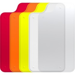 Trident Case - Apollo Series Plate Bundle Pack for iPhone 5 - Red/Orange/Yellow/White found on Bargain Bro India from Unlimited Cellular for $13.99