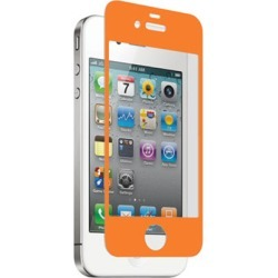 zNitro Nitro Glass Tempered Glass Screen Protector for Apple iPhone 4 / 4S (Orange)