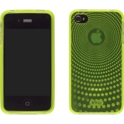 New ifrogz Green Silicone Soft Gloss Case for iPhone 4 Verizon
