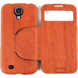 Cell Armor Hybrid Novelty Diary Case for Samsung Galaxy S4 (Orange)