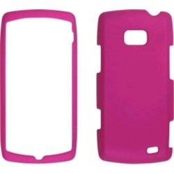 WIRELESS SOLUTIONS Soft Touch Snap-OnCase.  Frosted Pink.