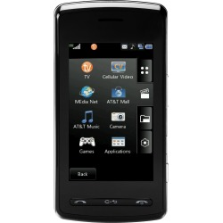 LG CU920 QuadBand Unlocked Phone with Touch Screen, MP3 Player and 2MP Camera (Black) - CU920-BLK-Unlocked-B Stock-A2Z