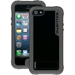 Ballistic Every1 Case for Apple iPhone 5 - Gray / Black found on Bargain Bro from Unlimited Cellular for USD $31.38