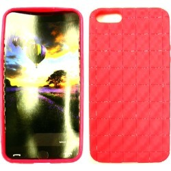 Unlimited Cellular Deluxe Silicone Skin Case for Apple iPhone 5 (PU Skin, Magenta) found on Bargain Bro India from Unlimited Cellular for $5.99