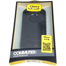 OtterBox Commuter Hybrid Case for Apple iPhone 4 / 4S (Black)