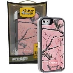 OtterBox - Defender Case for Apple iPhone 5 - Pink / Camo