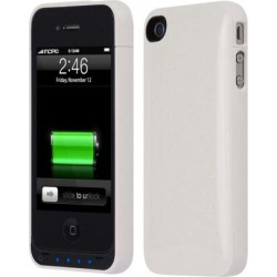 Incipio Technologies OffGRID Battery Case for Apple iPhone 4S / 4 (Glossy Pearl White)