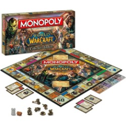 Toy - Board Game - World of Warcraft - Monopoly