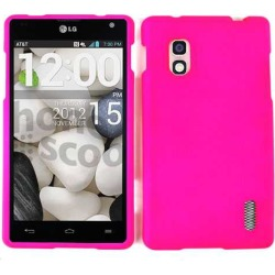 Unlimited Cellular Snap-On Case for LG Optimus G E970 (Fluorescent Dark Hot Pink) found on Bargain Bro India from Unlimited Cellular for $5.99