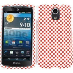 Unlimited Cellular Snap-On Case for Pantech Discover (3D Embossed, Red/White Checkers) found on Bargain Bro from Unlimited Cellular for USD $4.55