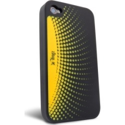 New ifrogz Orbit Yellow Silicone Case for iPhone 4