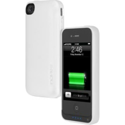 Incipio Bumper offGRID PRO  Backup Battery Case for Apple iPhone 4G/4S - White