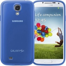 Samsung Protective Cover Plus Case for Samsung Galaxy S4 (Light Blue)
