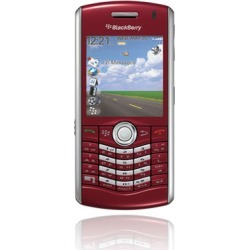 BlackBerry Pearl 8130 PDA Phone, Bluetooth, Camera, for Sprint - Red
