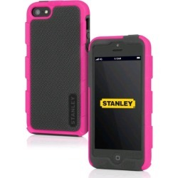 Incipio Foreman Stanley Rugged Case for Apple iPhone 5 - Gray / Pink