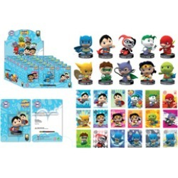 DC Universe - Little Mates Figurine & Puff Sticker Set - Assorted found on Bargain Bro India from Unlimited Cellular for $77.99