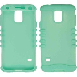 Rocker Series Skin Protector Case for Samsung Galaxy S5 / G900A / G900V / G900P (Light Blueish Green) found on Bargain Bro India from Unlimited Cellular for $5.99