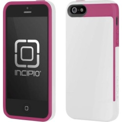 Incipio IPH-825 Faxion Case for Apple iPhone 5 (White/Pink)