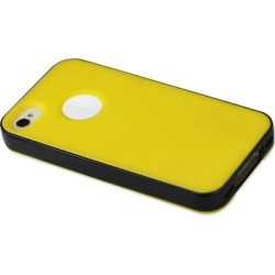 Reiko - Protector Cover PC Sides Plus TPU for APple iPhone 4/4S - Yellow