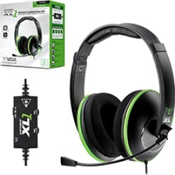 Turtle Beach - Ear Force XL1 Wired Headset for Xbox 360 - Black