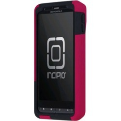 Incipio - SILICRYLIC Hard Shell Case with Silicone Core for Motorola DROID X2 - Pink/Gray