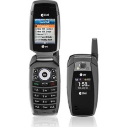 Gray - LG AX355 Cell Phone, Bluetooth, Camera, PTT, Speaker, for Alltel