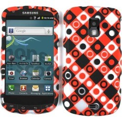 Unlimited Cellular Smooth Finish Cover Case for SAMR930 Galaxy S Aviator (Circles Squares)