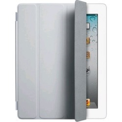 Original Apple iPad 2, 3, 4 Leather Smart Cover - Gray found on Bargain Bro India from Unlimited Cellular for $17.39