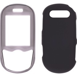 Samsung T249 Snap-On Case - Smoke & Black found on Bargain Bro India from Unlimited Cellular for $9.69