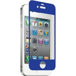Nitro Glass Screen Protector for Apple iPhone 4/4S - Blue
