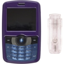 Purple 2 Piece Snap On Case for Pantech C790 Reveal