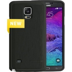 Body Glove Satin Snap-On. Black for SAMNOTE4 found on MODAPINS from Unlimited Cellular for USD $18.56