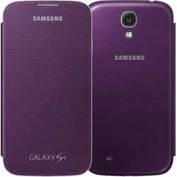 Samsung Flip Cover for Samsung Galaxy S4 (Purple) found on Bargain Bro Philippines from Unlimited Cellular for $46.89