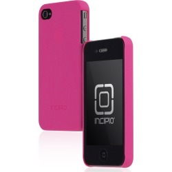 Incipio Feather Ultralight Hard Shell Case for Apple iPhone 4G / 4S - Matte Neon Pink
