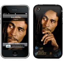 MusicSkins Bob Marley Legend Skin for iPhone 3G 3GS