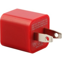 WireX Cube USB Wall Charger (Red)