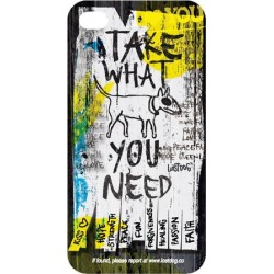 Bluetrek Slim Protective Case for Apple iPhone 4/4S (Take What You Need) - L02-00031-01