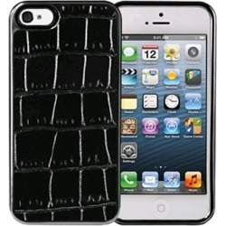 Xentris Wireless Hard Shell for Apple iPhone 5/5S - Black Alligator found on Bargain Bro India from Unlimited Cellular for $29.99
