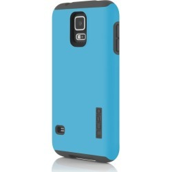 Incipio - DualPro Case for Samsung Galaxy S5 - Cyan/Gray