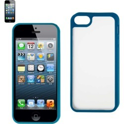 Reiko - PC/TPU Protector Cover for Apple iPhone 5 - Blue found on Bargain Bro India from Unlimited Cellular for $6.19