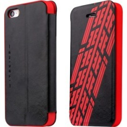 ITSKINS Angel Folio for Apple iPhone 5/5S - Black/Red found on Bargain Bro India from Unlimited Cellular for $17.69