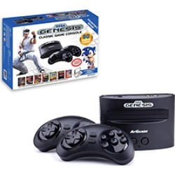 Sega Genesis 16-Bit  AtGames Flashback Classic Game Console with 2 Controllers