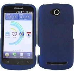 Unlimited Cellular Snap-On Case for Coolpad Quattro4G CL5860E - Honey Navy Blue,Leather Finish found on Bargain Bro India from Unlimited Cellular for $5.99