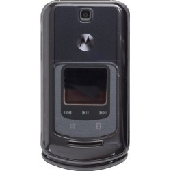 Wireless Solutions Snap-On Case for Motorola VE465 Frost - Smoke found on Bargain Bro India from Unlimited Cellular for $5.99