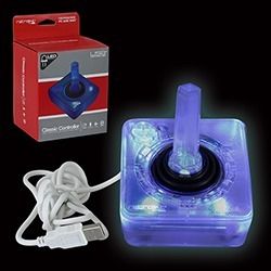 PC - Controller - Wired - Atari Style - USB Controller for PC & Mac - Blue LED (Retrolink) found on GamingScroll.com from Unlimited Cellular for $18.89