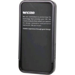 Incase Apple iPhone 4 Cover Case with Stand - Black (Bulk Packaging)